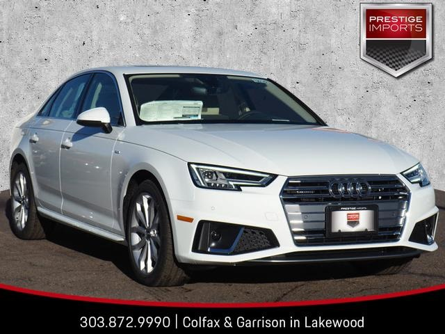 New 2019 Audi A4 20t Premium Plus 4d Sedan In Denver Co 190142