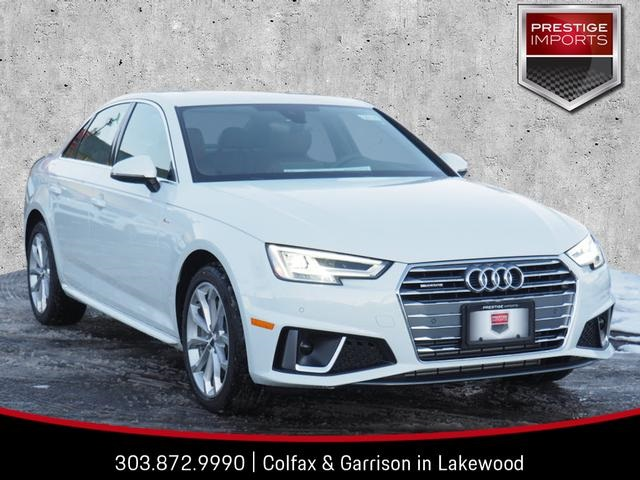 New 2019 Audi A4 20t Premium Plus 4d Sedan In Denver Co 190145