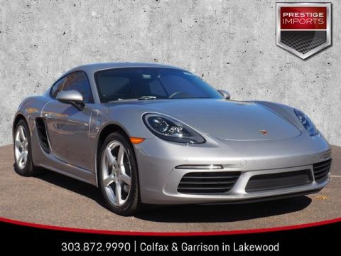 Certified Pre-Owned 2018 Porsche 718 Cayman Base
